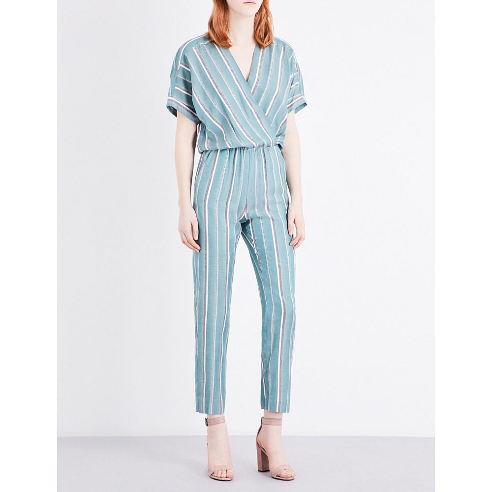 マージュ maje レディース ワンピース・ドレス オールインワン【pandora woven jumpsuit】Imprime