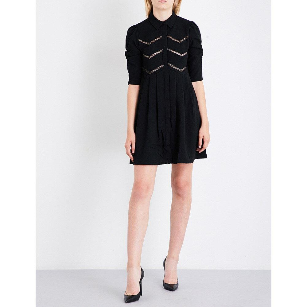 マージュ maje レディース ワンピース・ドレス ワンピース【ratila crepe dress】Black
