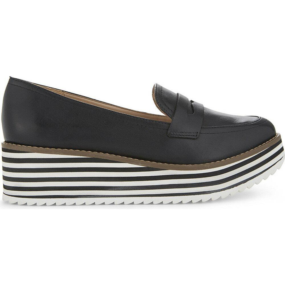 アルド aldo レディース シューズ・靴 ローファー・オックスフォード【candioni flatform loafers】Black leather