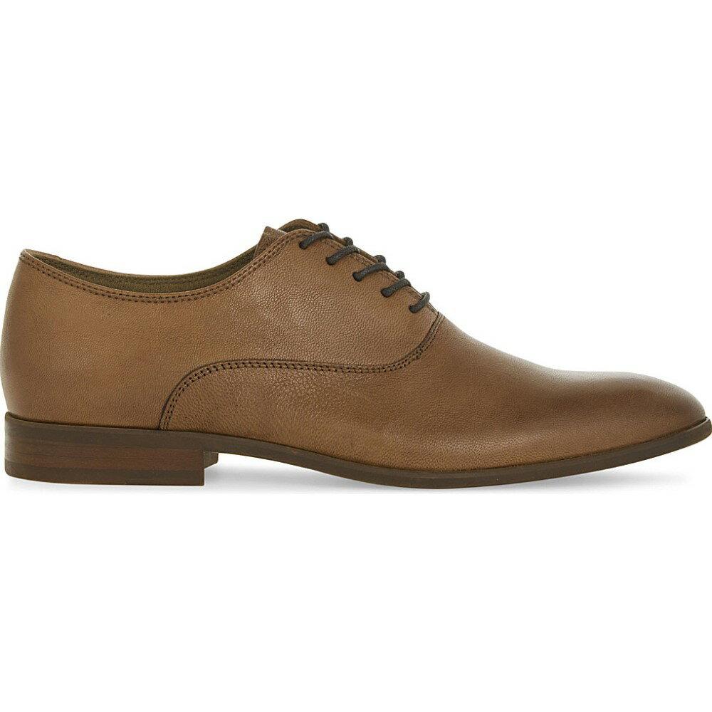 特別な アルド aldo メンズ シューズ・靴 革靴・ビジネスシューズ【aselan leather oxford shoes】Cognac