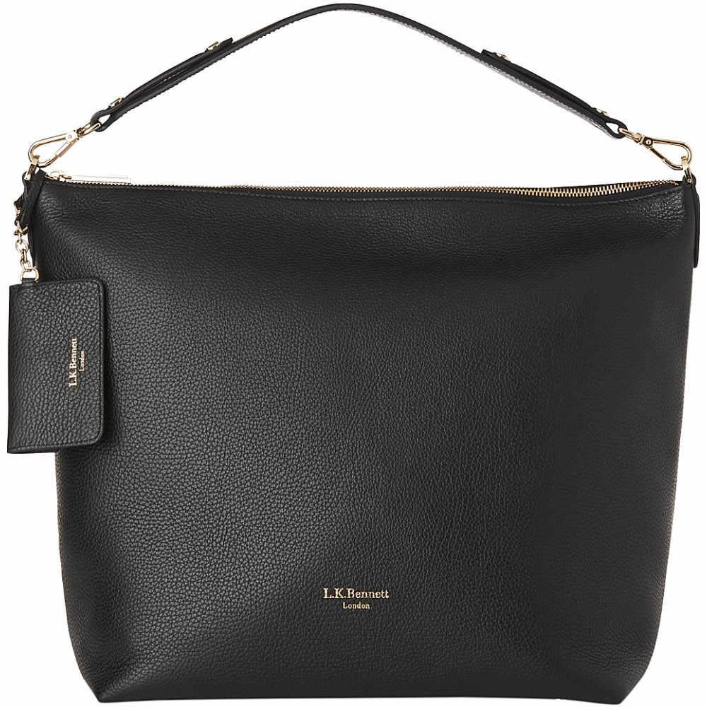 エルケーベネット lk bennett レディース バッグ ハンドバッグ【margot leather hobo bag】Bla-black