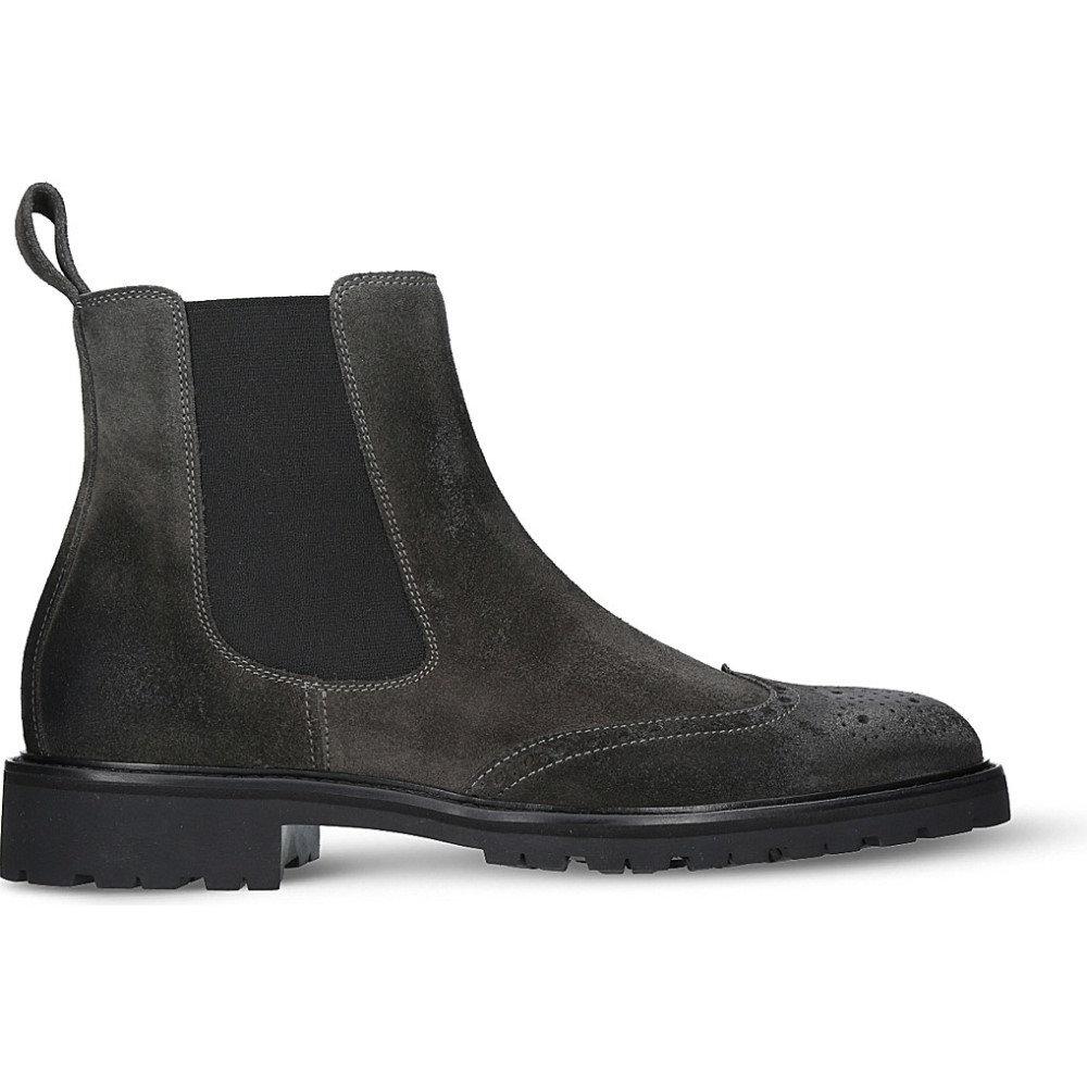 ベルスタッフ belstaff メンズ シューズ・靴 ブーツ【lancaster suede boots】Grey