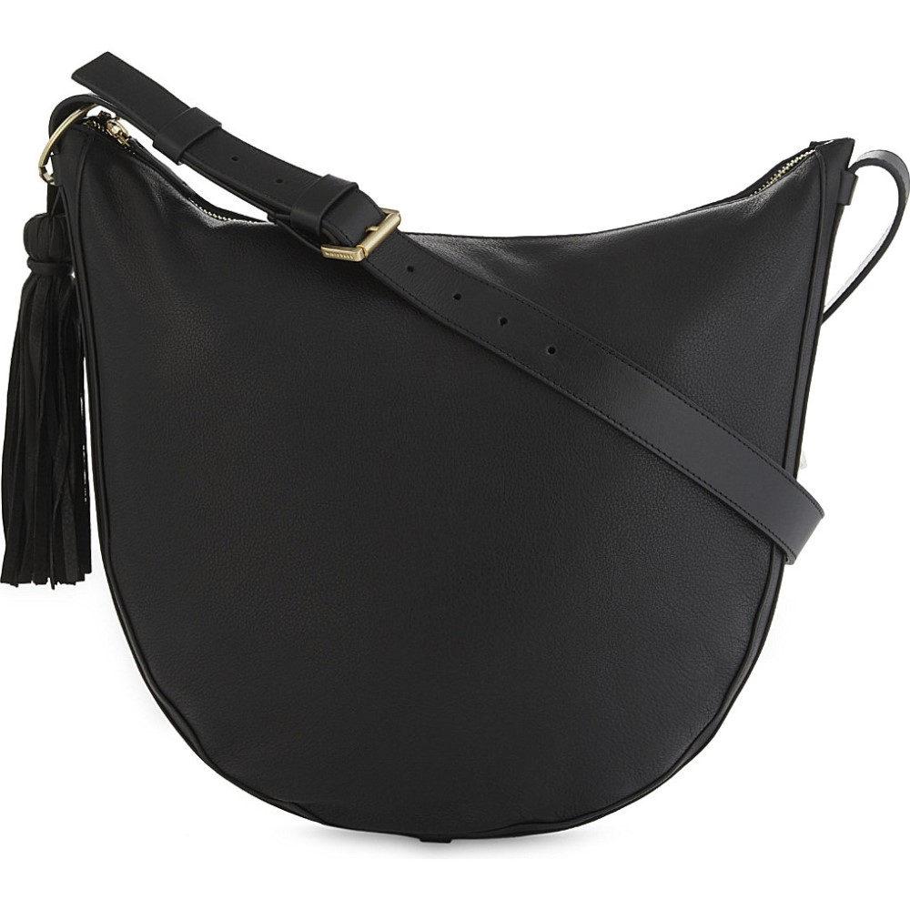 ホイッスルズ whistles レディース バッグ ハンドバッグ【tassel leather hobo bag】Black