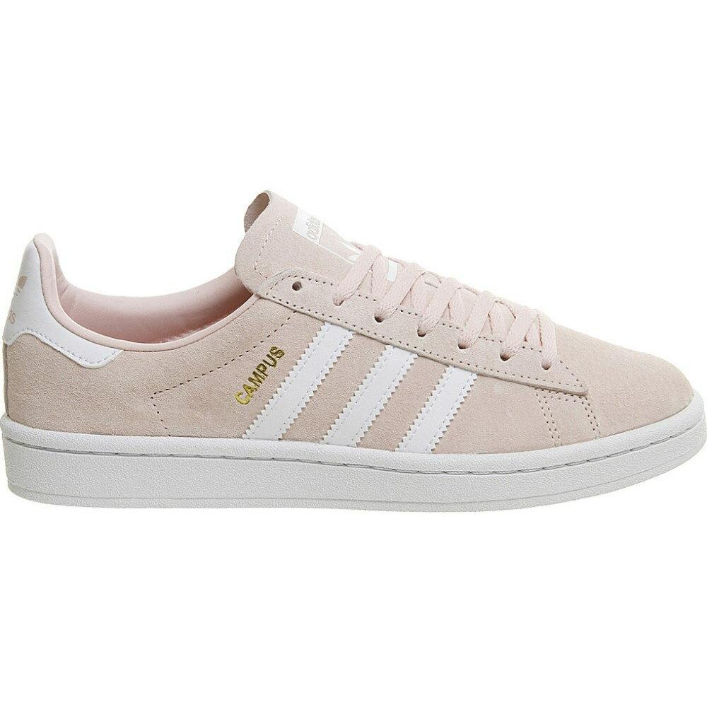 アディダス adidas レディース シューズ・靴 スニーカー【campus suede trainers】Icey pink white