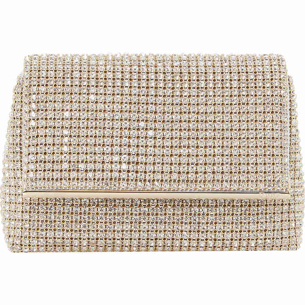 デューン dune レディース バッグ クラッチバッグ【everlina diamante-embellished clutch bag】Gold-diamantes