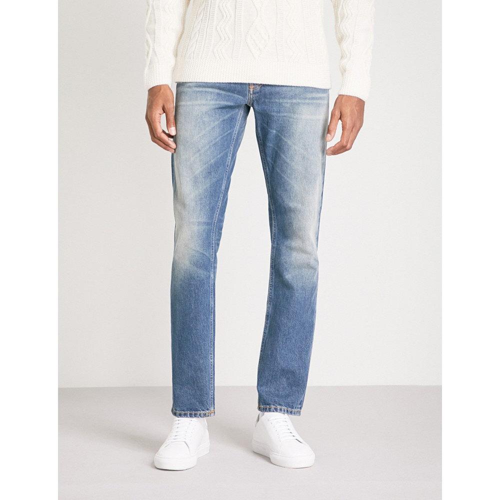 ヌーディージーンズ メンズ ボトムス・パンツ ジーンズ・デニム【fearless freddie loose-fit straight jeans】Crispy clear