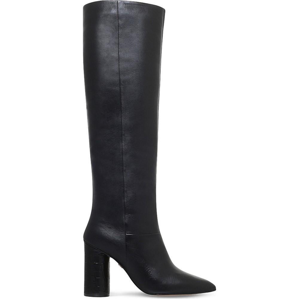 カート ジェイガー kg kurt geiger レディース シューズ・靴 ブーツ【trance leather knee-high boots】Black