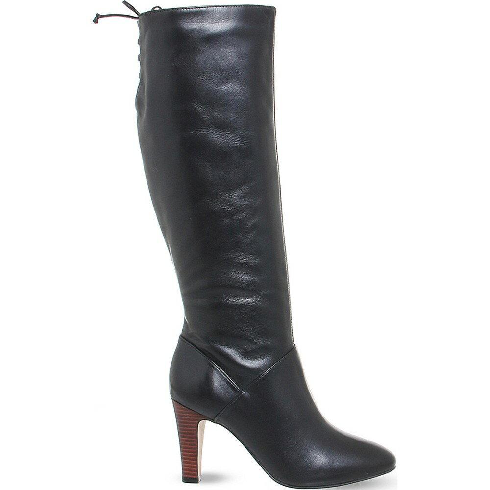 オフィス office レディース シューズ・靴 ブーツ【knicks block heel knee high boots】Black leather