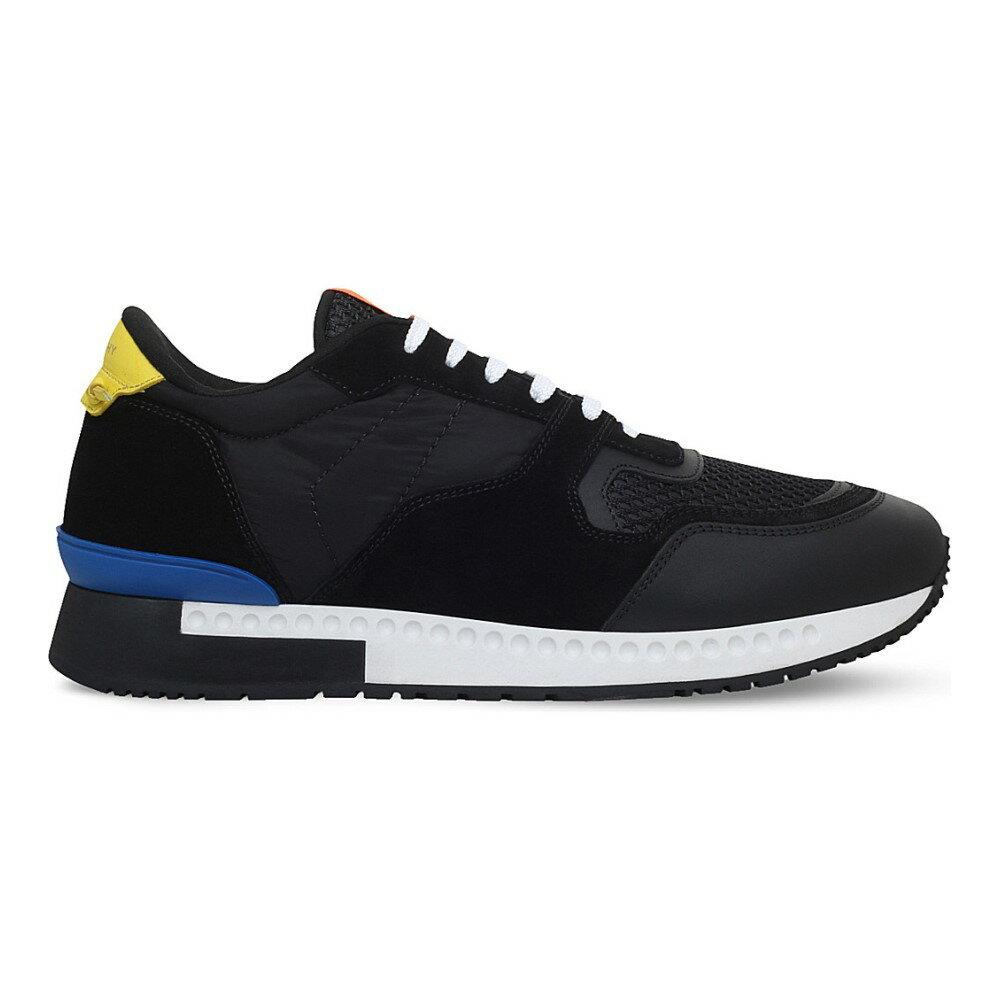 ジバンシー givenchy メンズ シューズ・靴 スニーカー【active suede runner trainers】Black