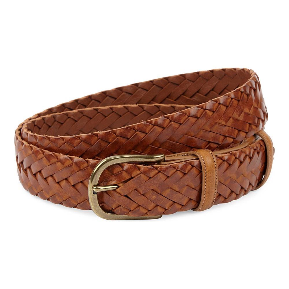 エリオットローズ elliot rhodes メンズ アクセサリー ベルト【hand-woven leather belt】Tan