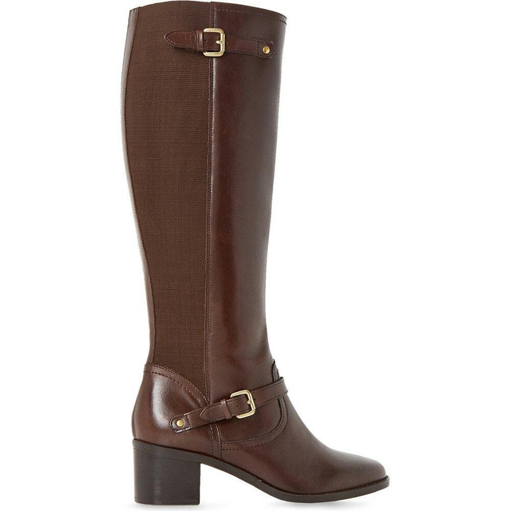 デューン dune レディース シューズ・靴 ブーツ【vivvi leather knee-high boots】Brown-leather