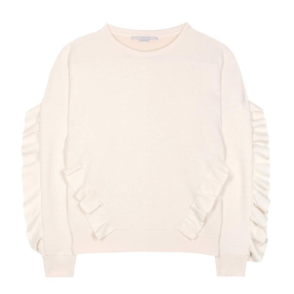 ステラ マッカートニー Stella McCartney レディース トップス トレーナー【Ruffled cotton-blend sweater】