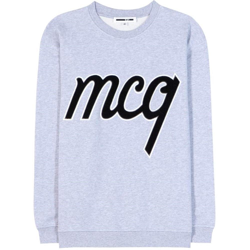 アレキサンダー マックイーン McQ Alexander McQueen レディース トップス トレーナー【Embellished cotton sweatshirt】