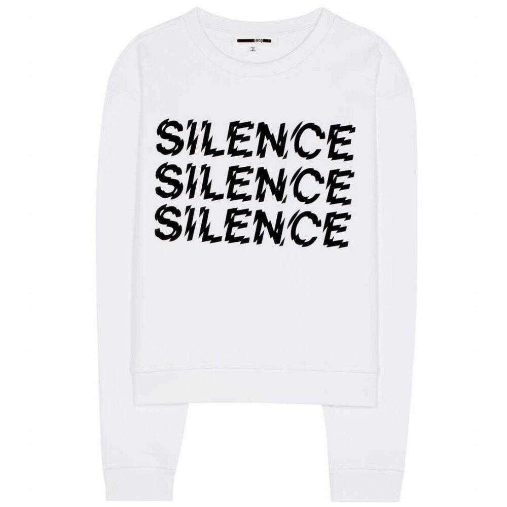 アレキサンダー マックイーン McQ Alexander McQueen レディース トップス トレーナー【Triple Silence printed cotton sweatshirt】
