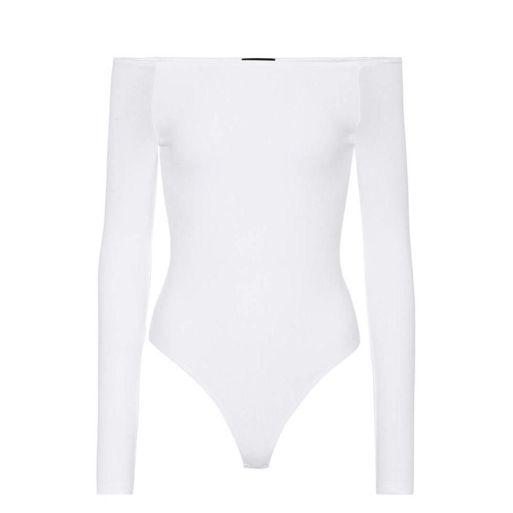 アンソニー トーマス メリロー ATM Anthony Thomas Melillo レディース トップス オールインワン【Jersey off-the-shoulder bodysuit】