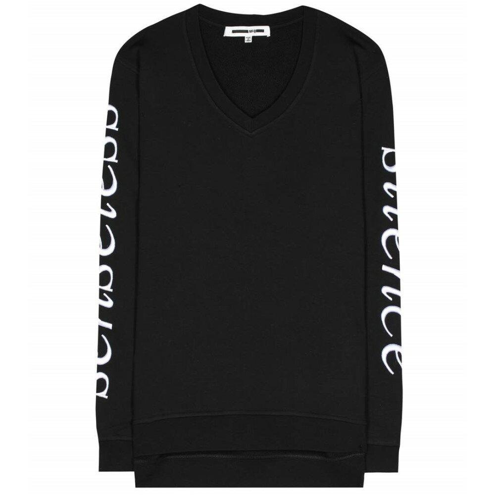 アレキサンダー マックイーン McQ Alexander McQueen レディース トップス トレーナー【Embroidered cotton sweatshirt】