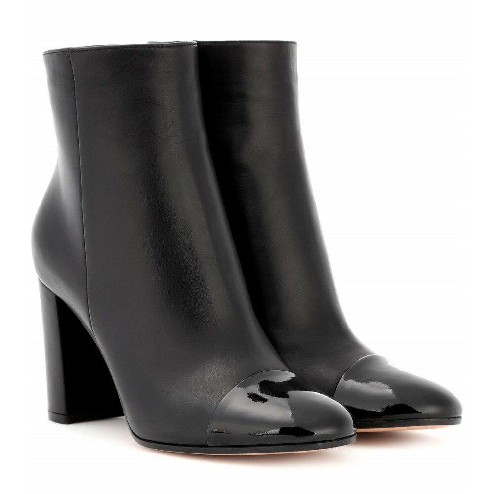 ジャンヴィト ロッシ Gianvito Rossi レディース シューズ?靴 ブーツ【Leather ankle boots】