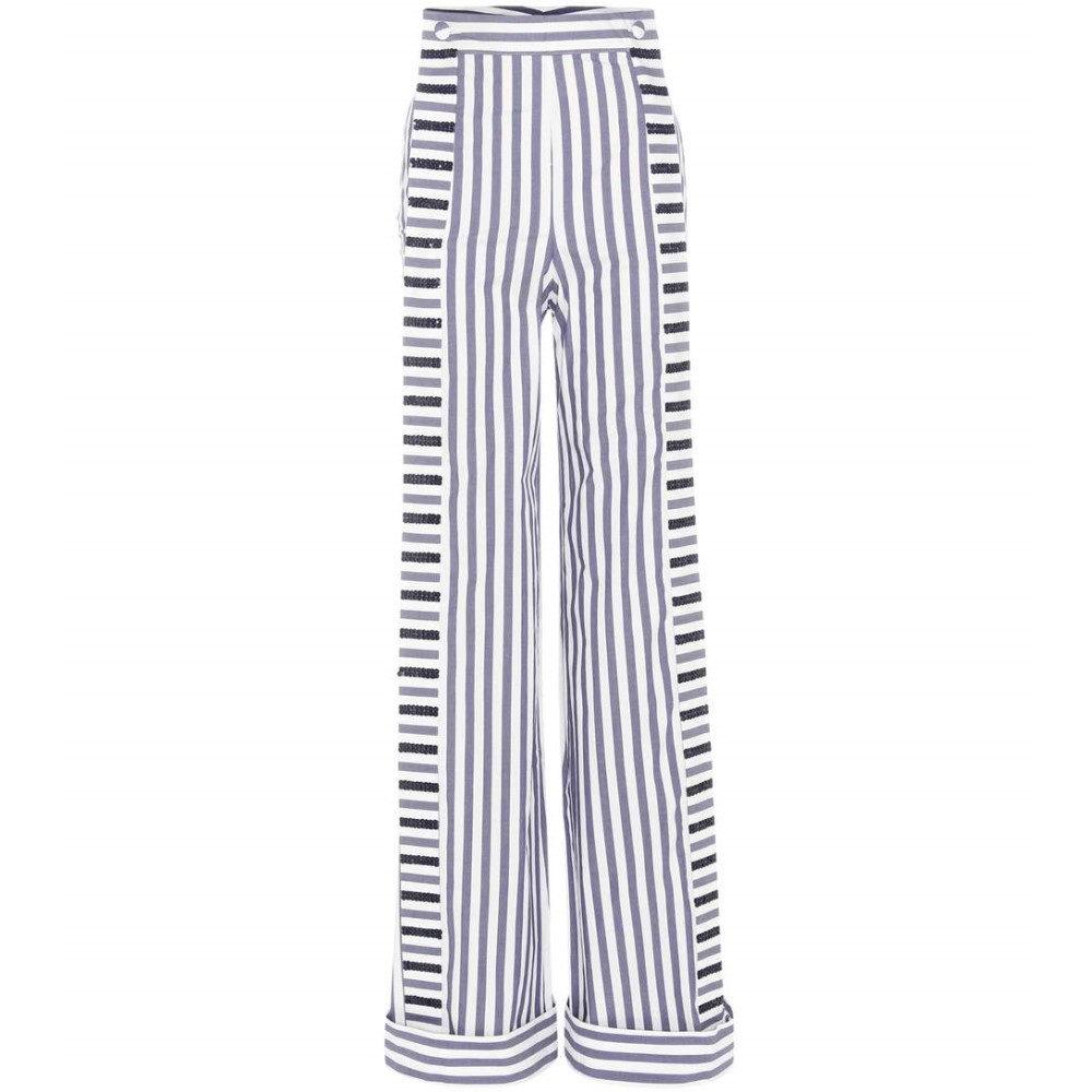 ジョアンナオッティ Johanna Ortiz レディース ボトムス トラウザーズ【Morgan embellished cotton trousers】
