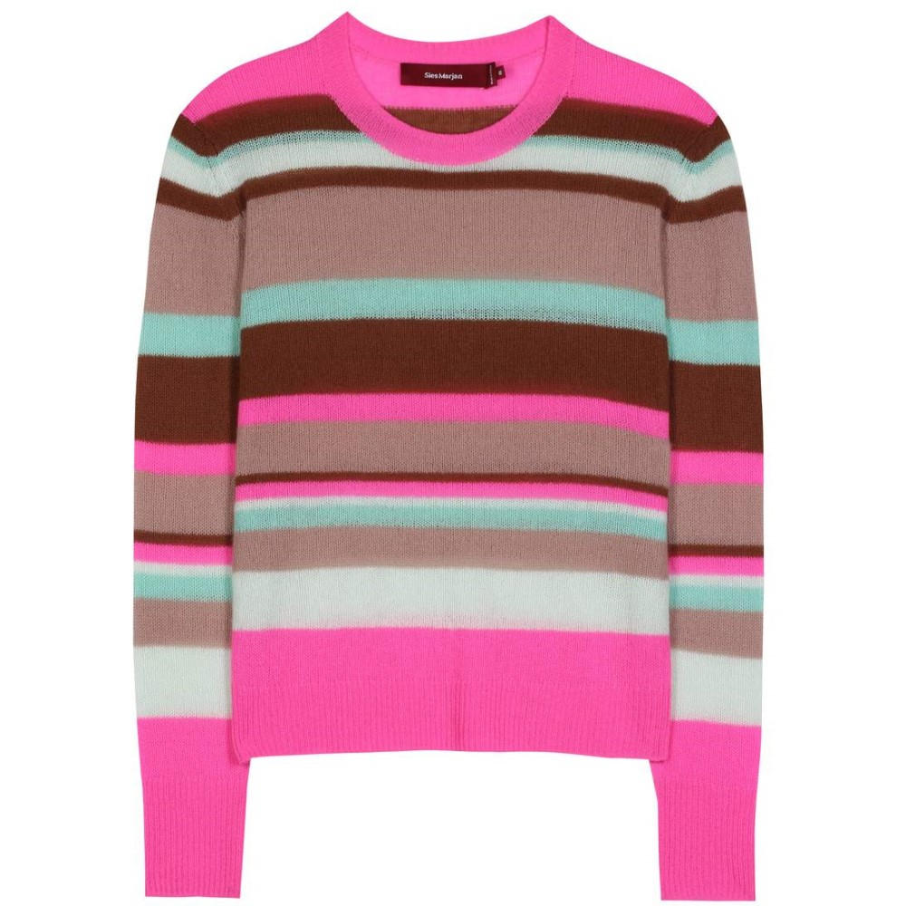 シエス マルジャン Sies Marjan レディース トップス ニット・セーター【Striped cashmere sweater】