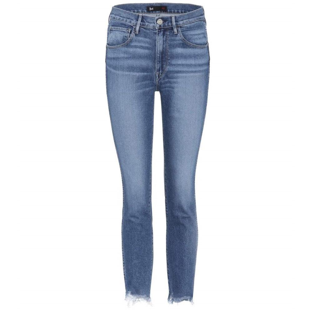 スリー バイ ワン 3x1 レディース ボトムス ジーンズ【W3 Straight Authentic jeans】
