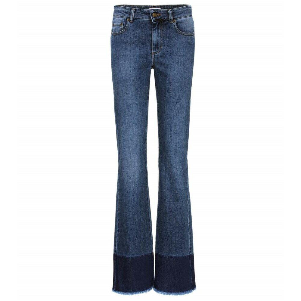 レッドヴァレンティノ REDValentino レディース ボトムス ジーンズ【Raw hem jeans】