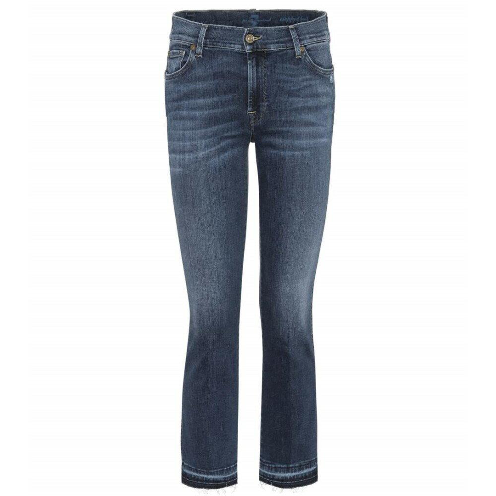 セブン フォー オール マンカインド 7 For All Mankind レディース ボトムス ジーンズ【The Ankle Flare cropped jeans】