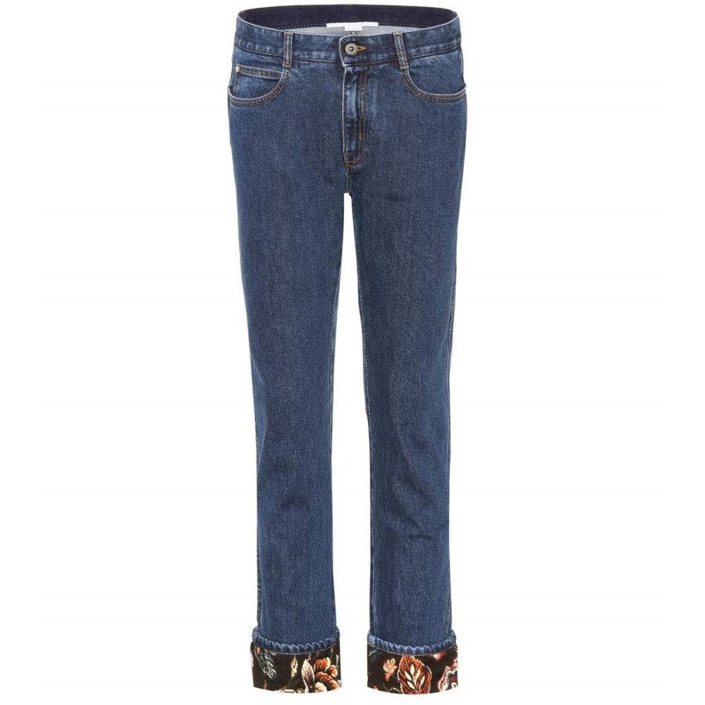 ステラ マッカートニー Stella McCartney レディース ボトムス ジーンズ【Cropped jeans】