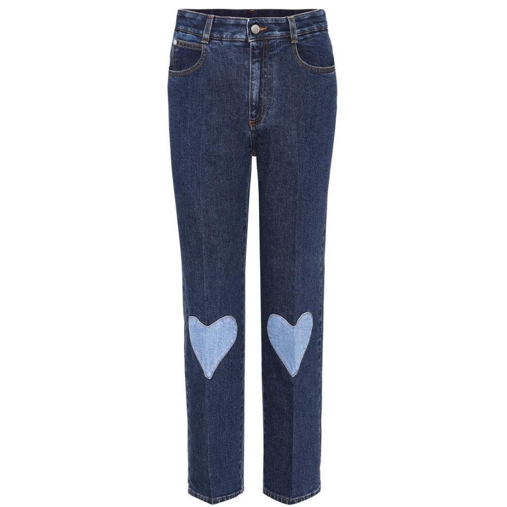 ステラ マッカートニー Stella McCartney レディース ボトムス ジーンズ【Heart-appliqued jeans】