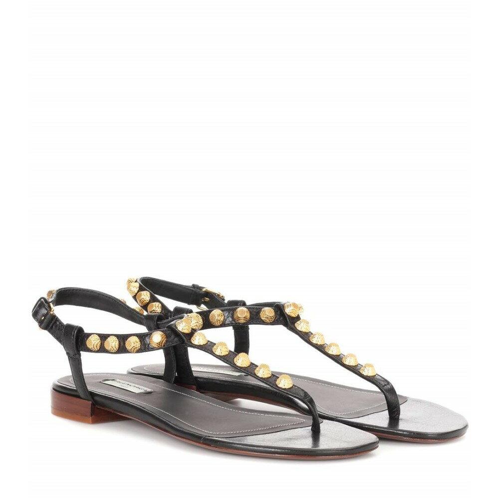 バレンシアガ Balenciaga レディース シューズ・靴 サンダル【Giant studded leather sandals】