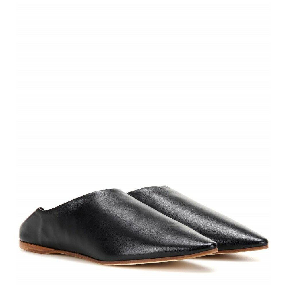 アクネ ストゥディオズ Acne Studios レディース シューズ?靴 フラット【Amina leather babouche slippers】