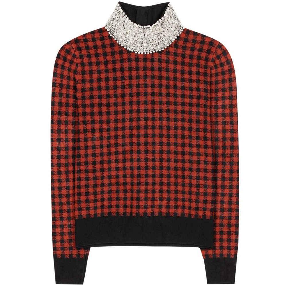 ガニー Ganni レディース トップス ニット・セーター【Loras plaid sweater】