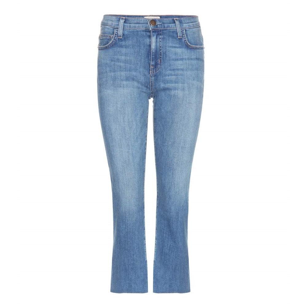 有名な品物 カレント エリオット Current/Elliott レディース ボトムス ジーンズ【The Kick Mid-rise flared cropped jeans】