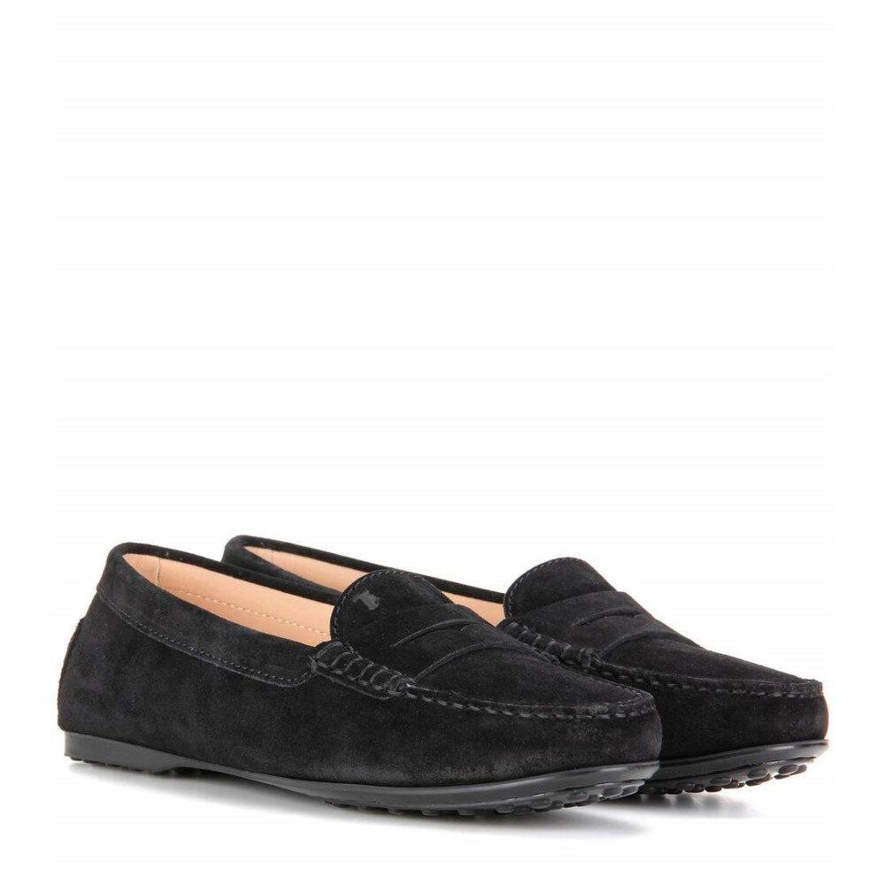 【個性派】 トッズ Tod's レディース シューズ?靴 ローファー【Gommino suede loafers】