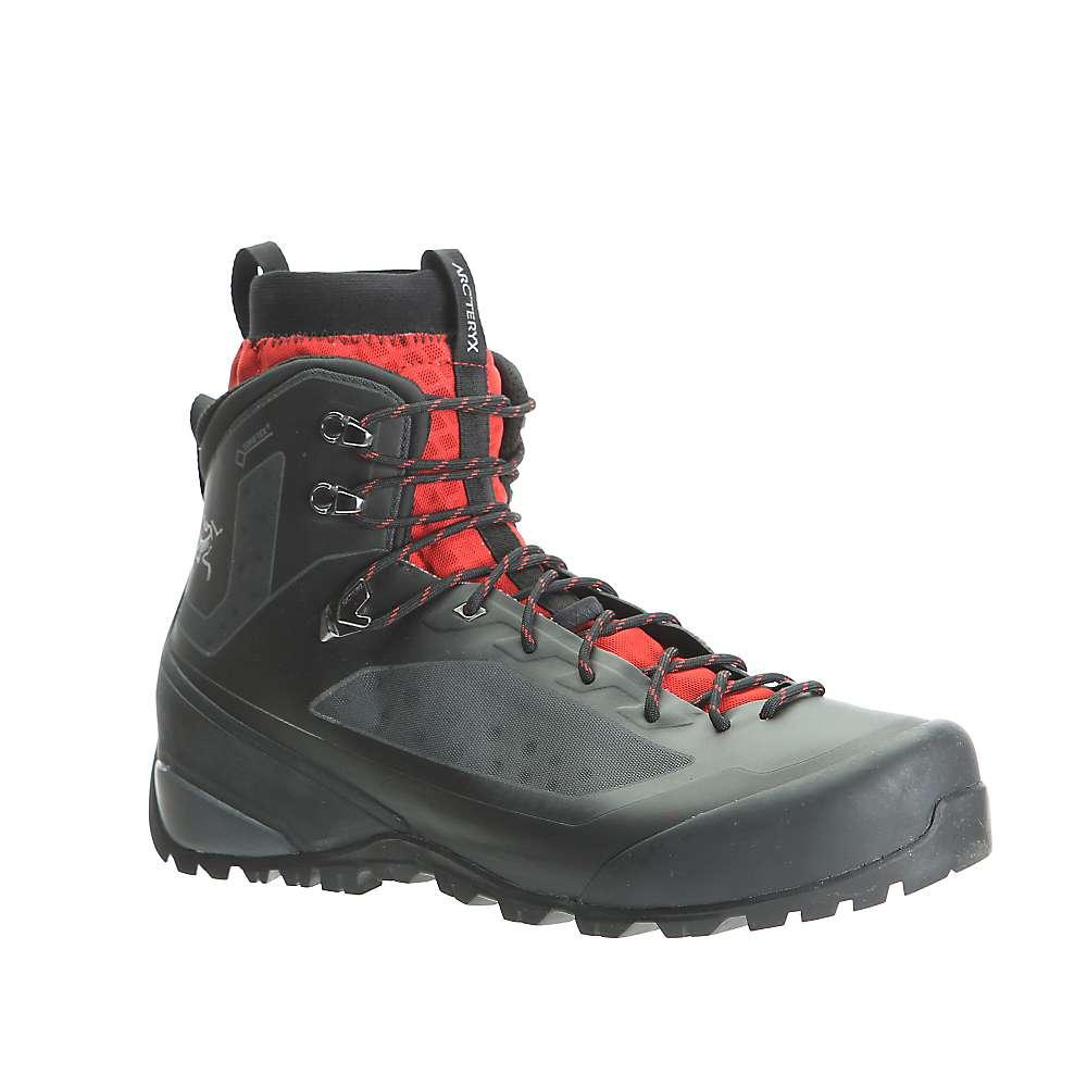 最安挑戦 アークテリクス メンズ ハイキング シューズ?靴【Arcteryx Bora2 Mid GTX Hiking Boot】Black / Cajun
