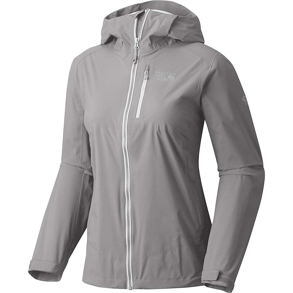 マウンテンハードウェア レディース アウター ジャケット【Mountain Hardwear Thundershadow Jacket】Manta Grey