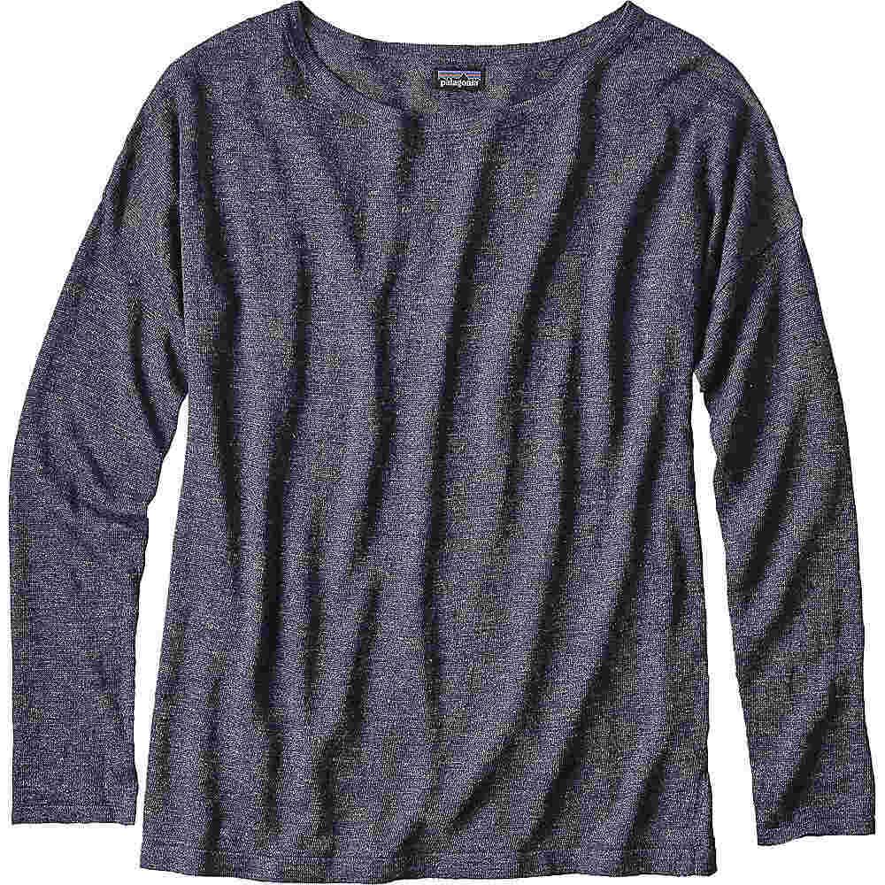パタゴニア レディース トップス ニット・セーター【Patagonia Lightweight Linen Sweater】Navy Blue