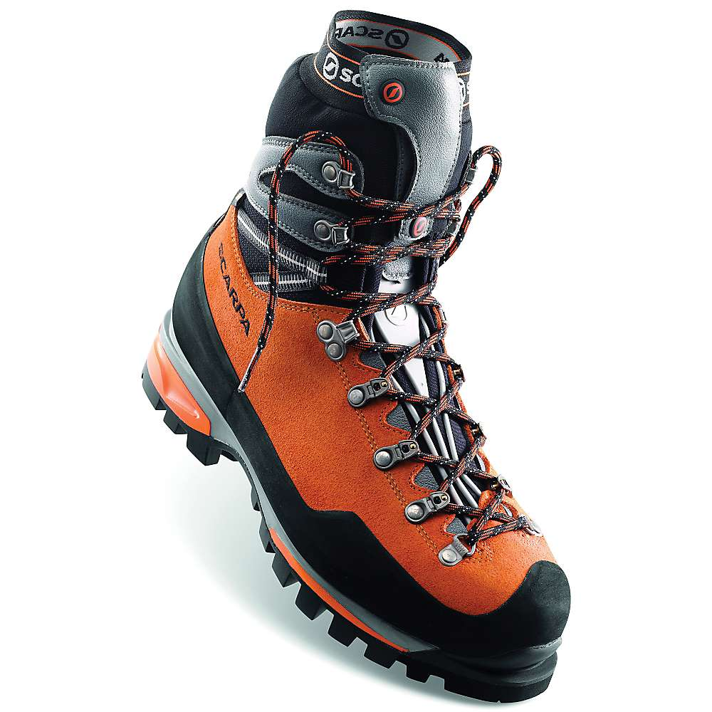 絶好のチャンス スカルパ メンズ 登山 シューズ?靴【Scarpa Mont Blanc Pro GTX Boot】Orange
