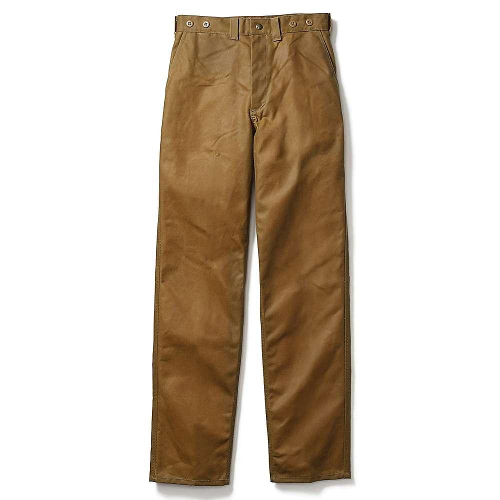 激安&新作 フィルソン メンズ ハイキング ウェア【Filson Oil Finish Single Tin Pant】Dark Tan