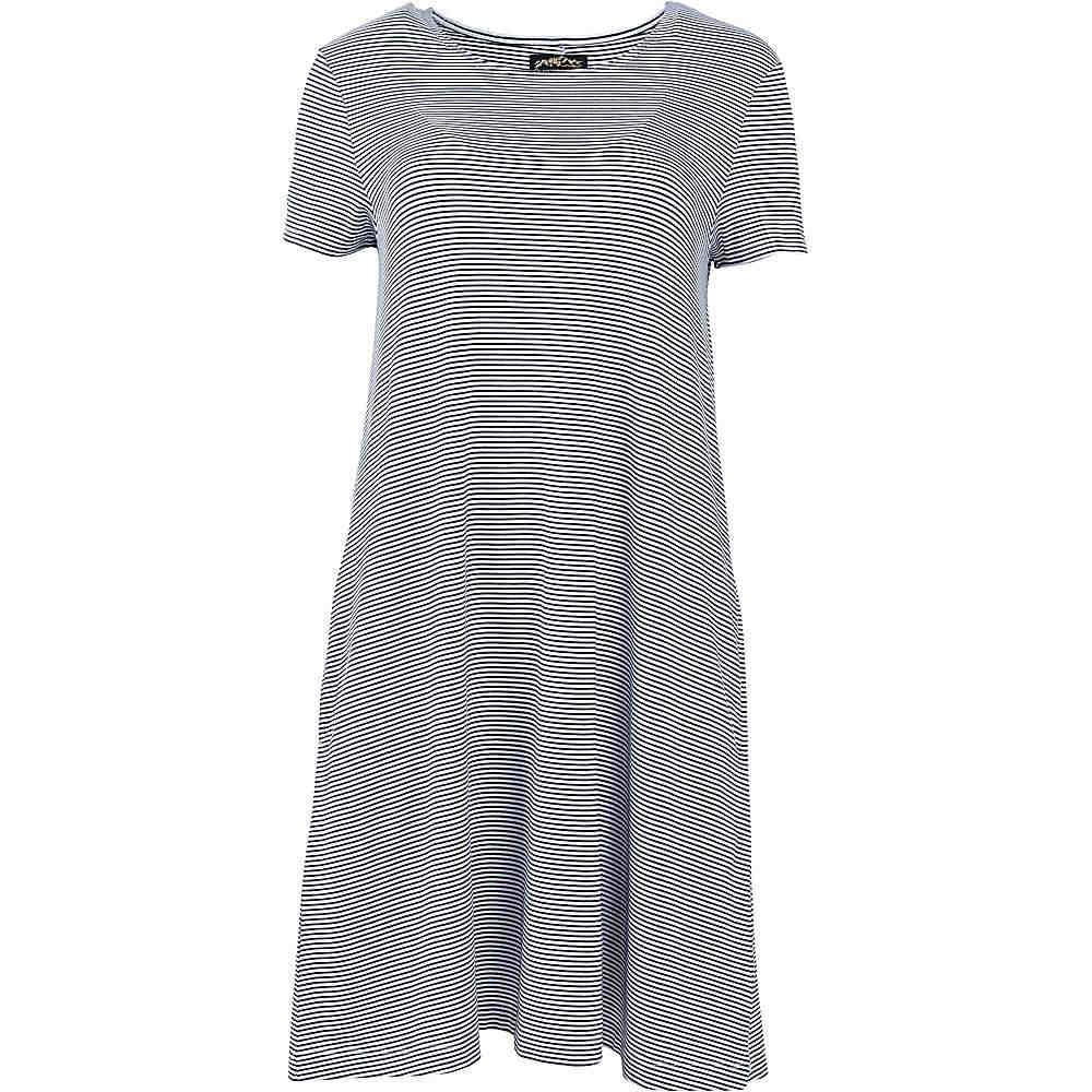 ユナイテッドバイブルー レディース トップス ワンピース【United By Blue Ridley Swing Dress】Navy / White