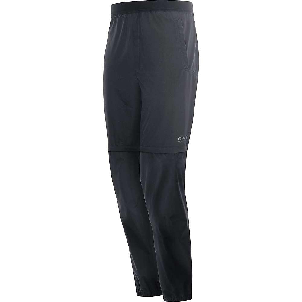 売れ筋No.1 ゴア メンズ ハイキング ウェア【Gore Running Wear Essential Gore Windstopper Zip-Off Pant】Black