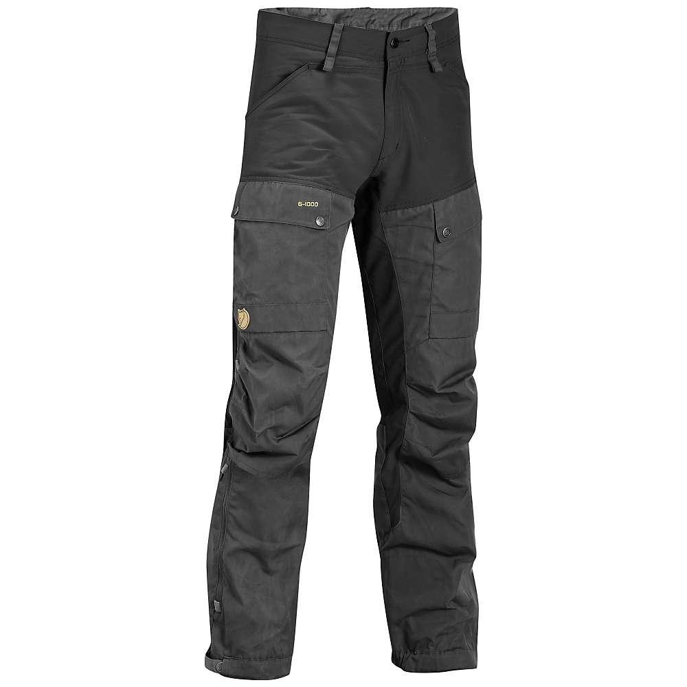 人気商品セール フェールラーベン メンズ ハイキング ウェア【Fjallraven Keb Trouser】Black / Dark Grey