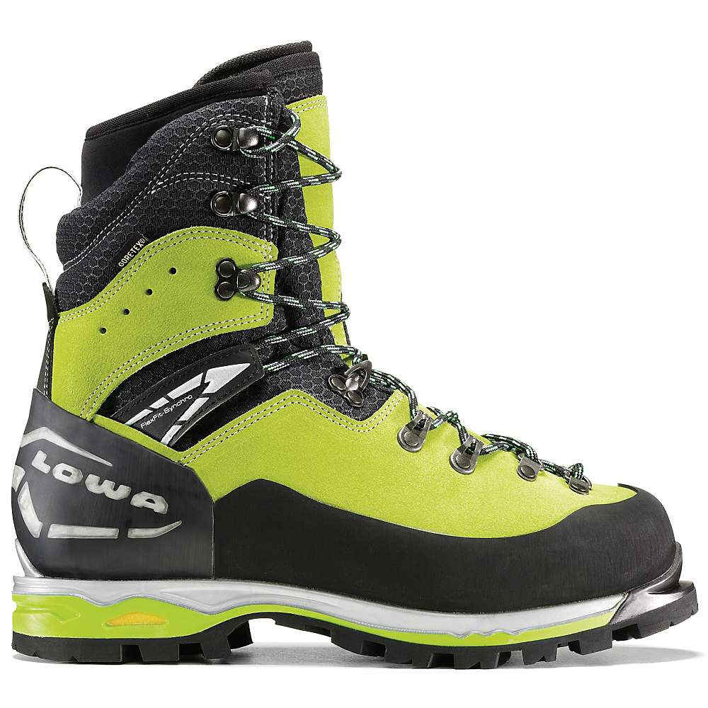 お急ぎを! ローバー メンズ 登山 シューズ?靴【Lowa Weisshorn GTX Boot】Lime / Black