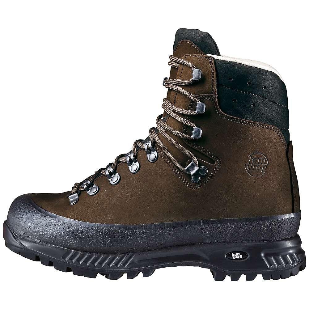 革製の ハンワグ メンズ ハイキング シューズ?靴【Hanwag Yukon Boot】Brown