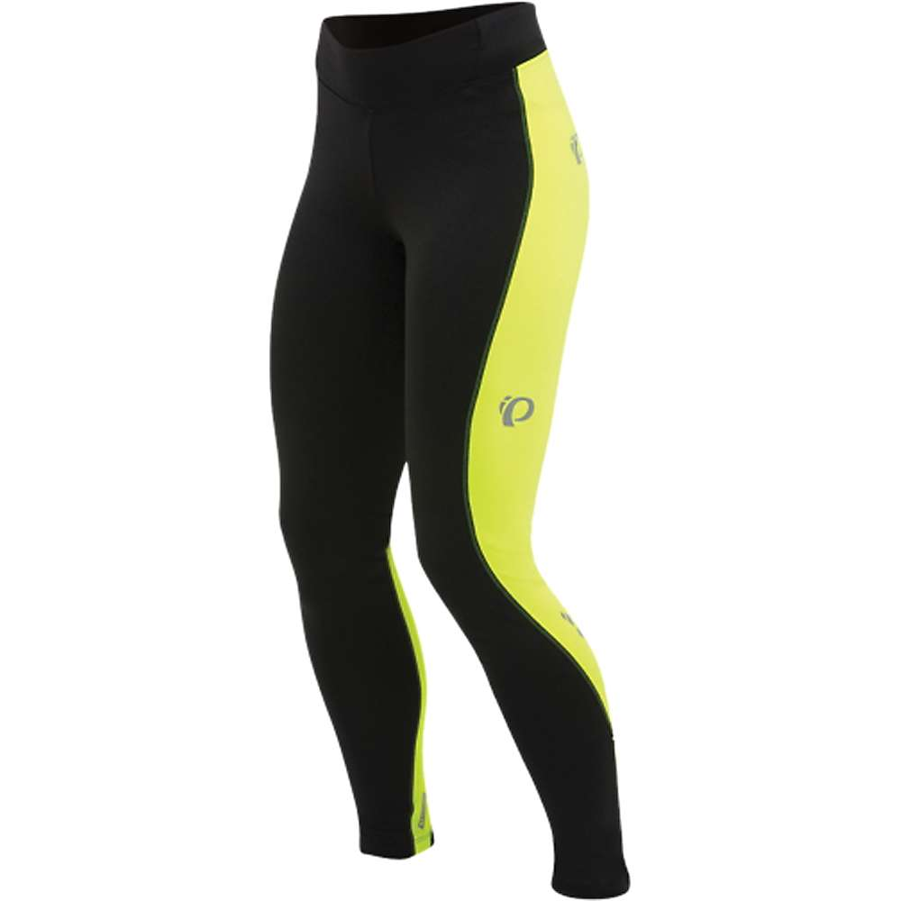 パールイズミ レディース サイクリング ウェア【Pearl Izumi Sugar Thermal Tight】Black / Screaming Yellow Stitch