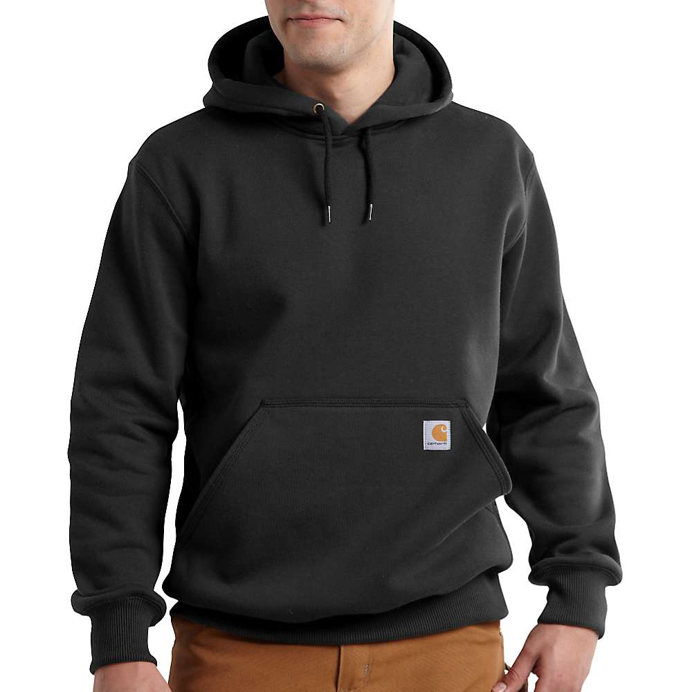 カーハート メンズ トップス パーカー【Carhartt Rain Defender Paxton Heavyweight Hooded Sweatshirt】Black