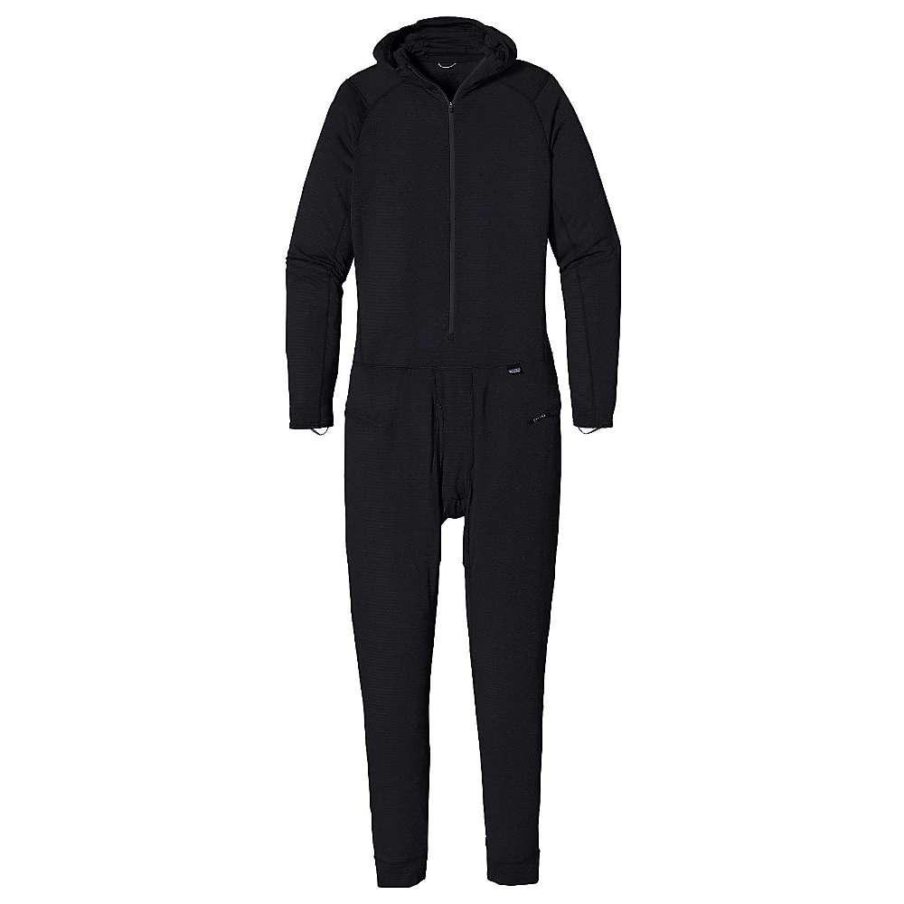 パタゴニア メンズ インナー パジャマ・ボトムのみ【Patagonia Capilene Thermal Weight One-Piece Suit】Black