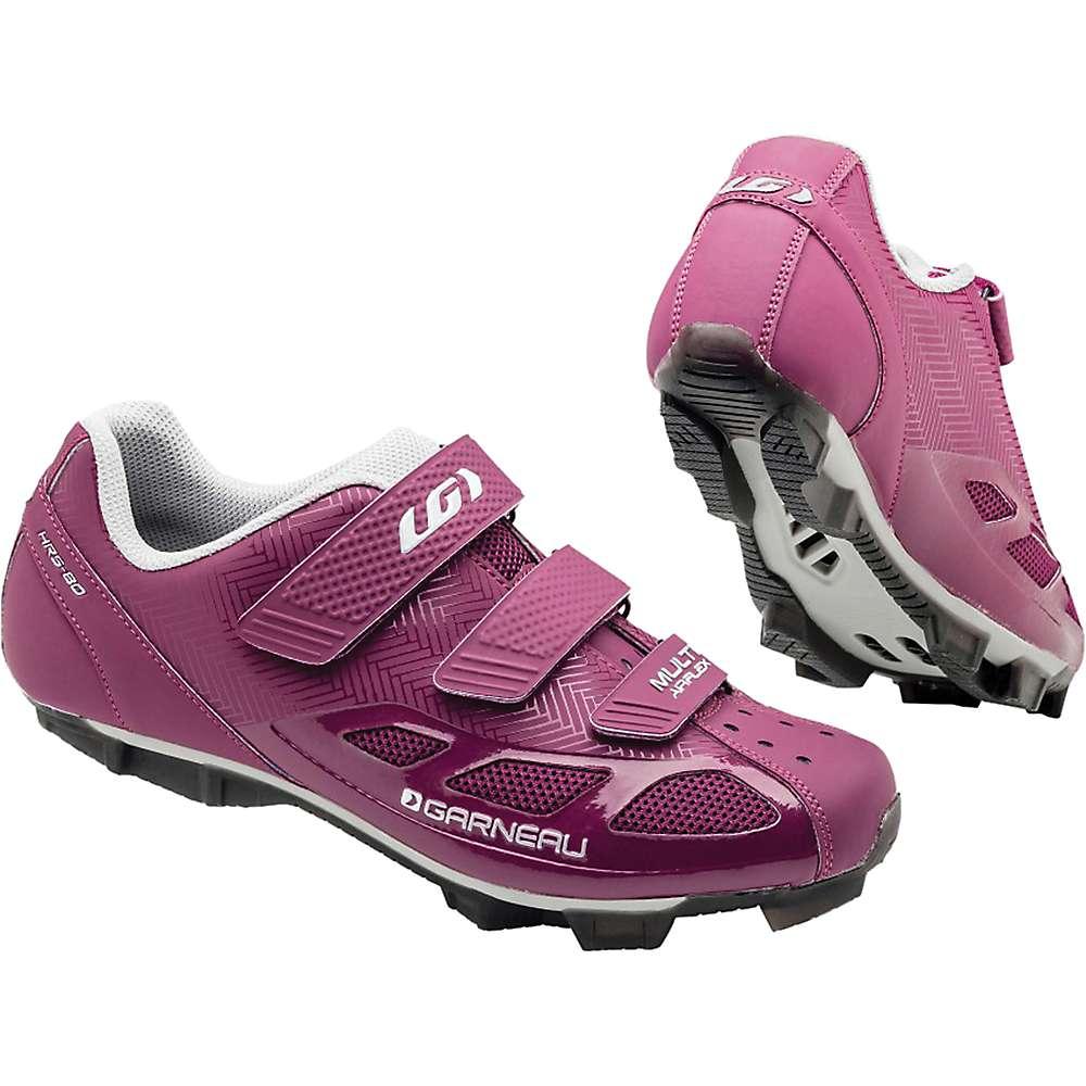 ルイスガーナー レディース サイクリング シューズ・靴【Louis Garneau Multi Air Flex Shoe】Magenta / Drizzle