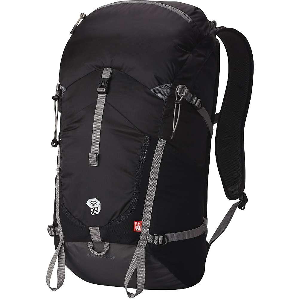 最安挑戦 マウンテンハードウェア ユニセックス メンズ レディース ハイキング バッグ【Mountain Hardwear Rainshadow 26 OutDry Backpack】Black