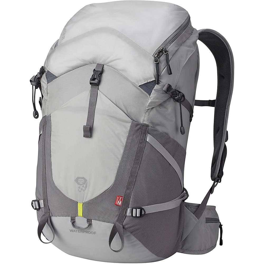 圧倒的な品質 マウンテンハードウェア ユニセックス メンズ レディース ハイキング バッグ【Mountain Hardwear Rainshadow 36 OutDry Backpack】Grey Ice
