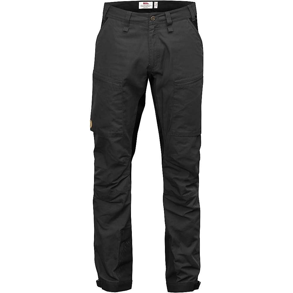 今週人気の フェールラーベン メンズ ハイキング ウェア【Fjallraven Abisko Lite Trekking Trousers】Dark Grey